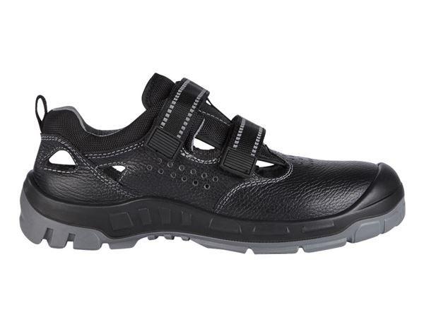 STONEKIT S1 Varnostni sandali Malaga črna,1.png | 40,normal