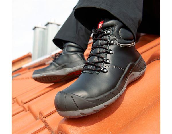 """Varnostni čevlji za krovce/asfalterje """"Samuel"""" črna,1.png   39,normal"""