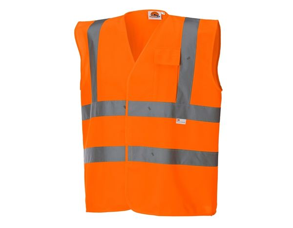 STONEKIT Opozorilni zaščitni brezrokavnik z žepom