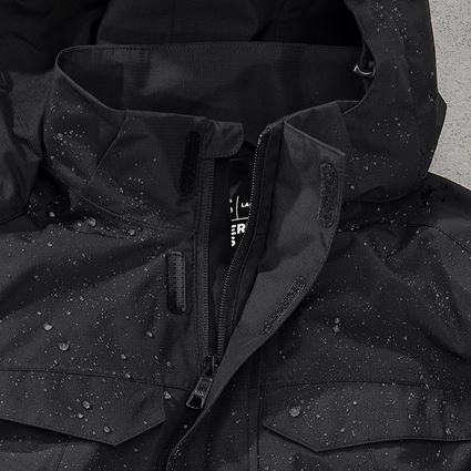 Jacken: Regenjacke e.s.concrete, Damen + schwarz 2