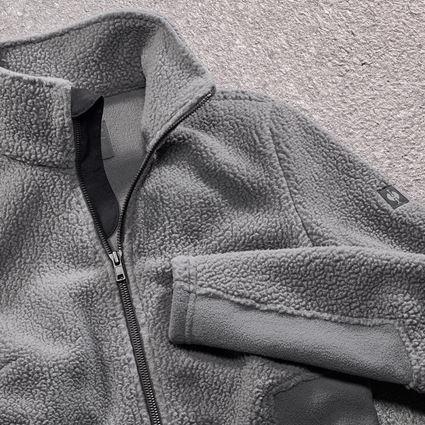 Jacken: Faserpelz Jacke e.s.vintage, Damen + zinn 2