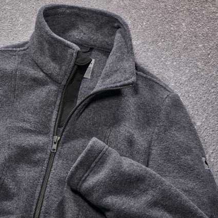 Jacken: Fleecejacke e.s.vintage, Damen + schwarz 2