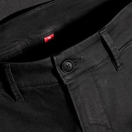 Hosen: e.s. 5-Pocket-Berufshose Chino + schwarz 2