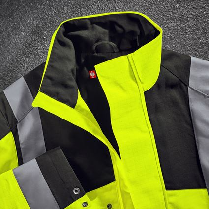 Jacken: e.s. Berufsjacke multinorm high-vis + warngelb/schwarz 2