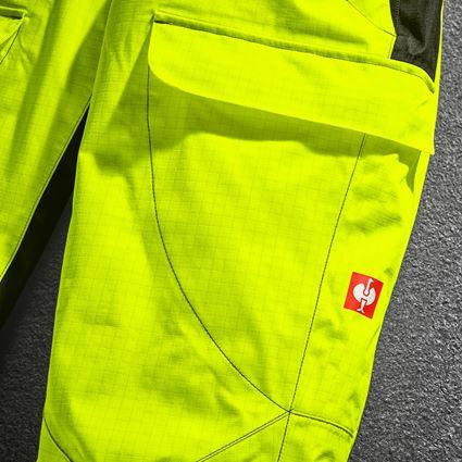 Hosen: e.s. Wetterschutzbundhose multinorm high-vis + warngelb/schwarz 2