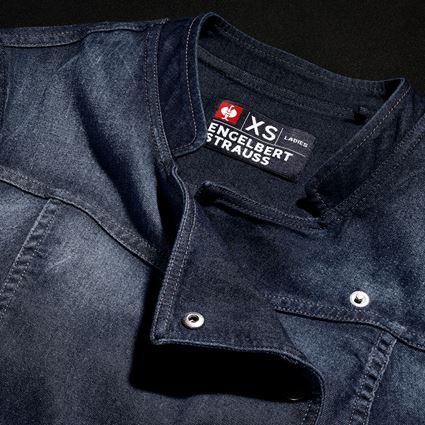 Shirts & Co.: e.s. Kochjacke denim, Damen + mediumwashed 2