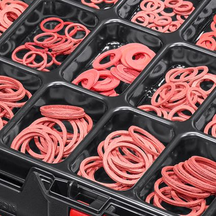Kleinteile-Sortimente: Dichtringe DIN 7603 in STRAUSSbox 118 midi 2