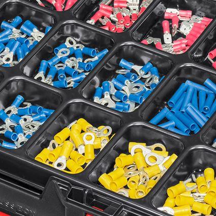 Kleinteile-Sortimente: Kabelverbinder isoliert(EI) in STRAUSSbox 118 midi 2