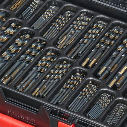 Bohrer: HSS-G Metall-Spiralbohrer- Sortiment turbo in Box 2