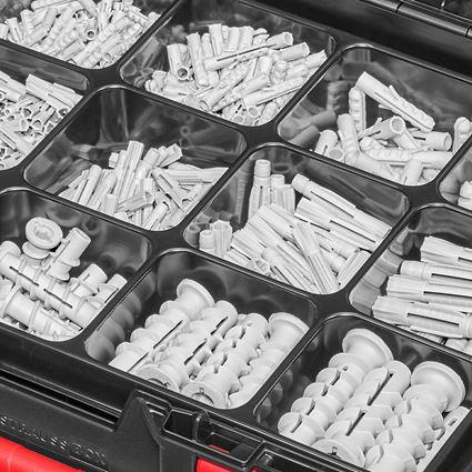 Dübel: Montage-Dübel-Sortiment in STRAUSSbox 118 midi 2