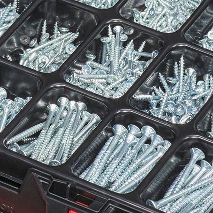 Schrauben: Universalschraube plus-Sort. vz in STRAUSSbox midi 2