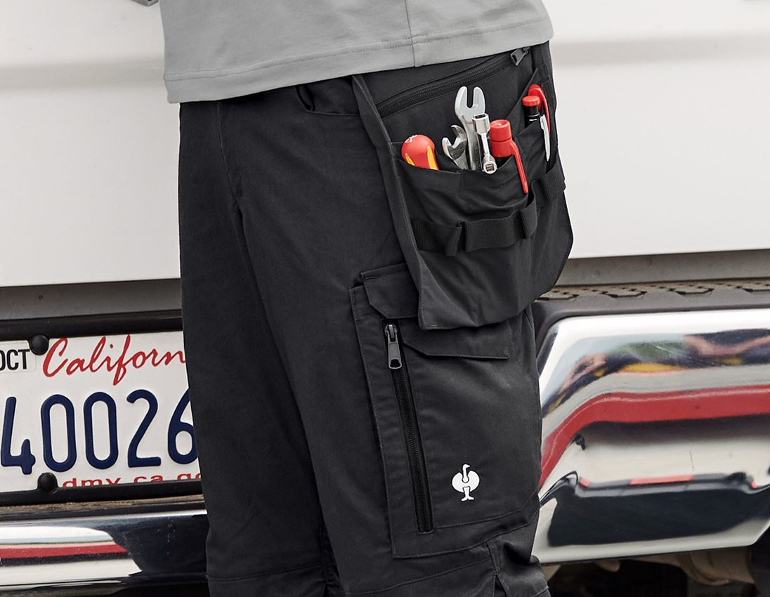 Accessoires: Werkzeugtaschen e.s.concrete light + schwarz