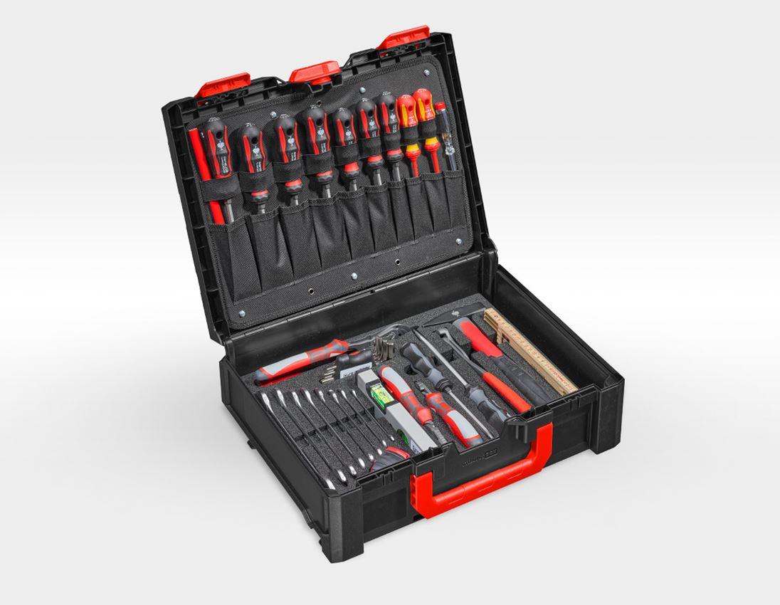 Werkzeugkoffer: STRAUSSbox Werkzeug-Set 145 Allround