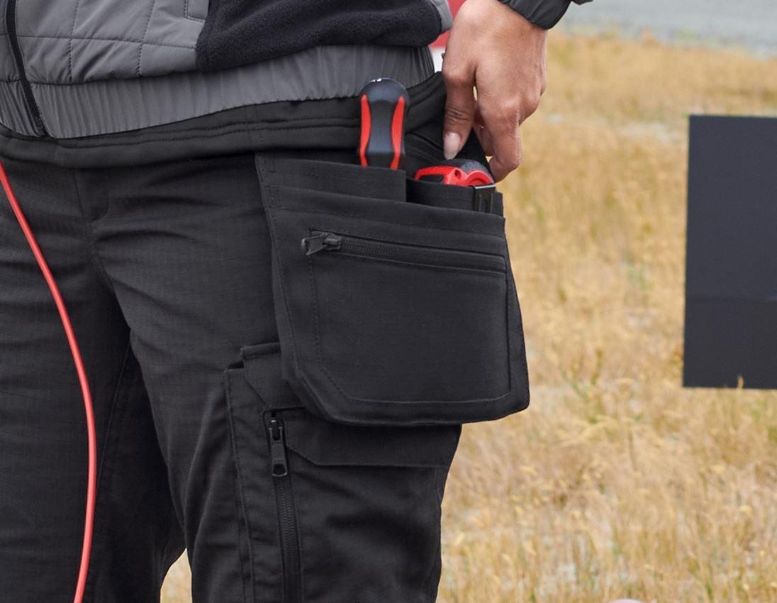 Accessoires: Werkzeugtaschen e.s.concrete solid, Damen + schwarz