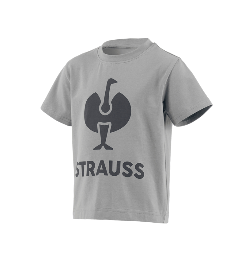 Shirts & Co.: T-Shirt e.s.concrete, Kinder + perlgrau
