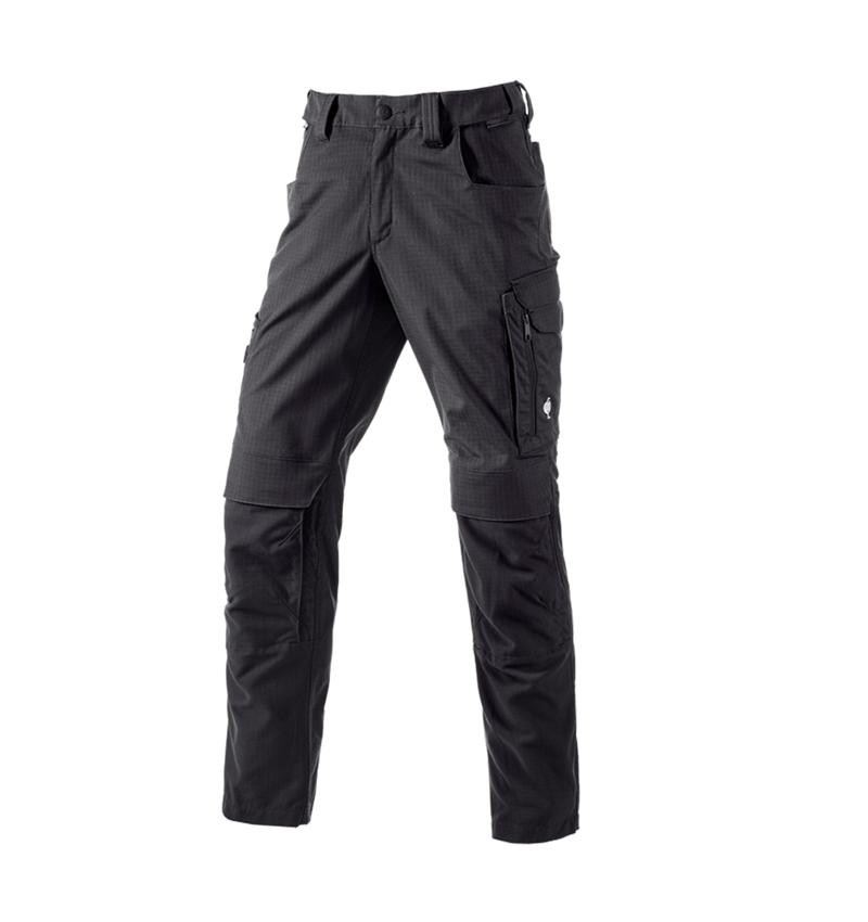 Hosen: Bundhose e.s.concrete solid + schwarz