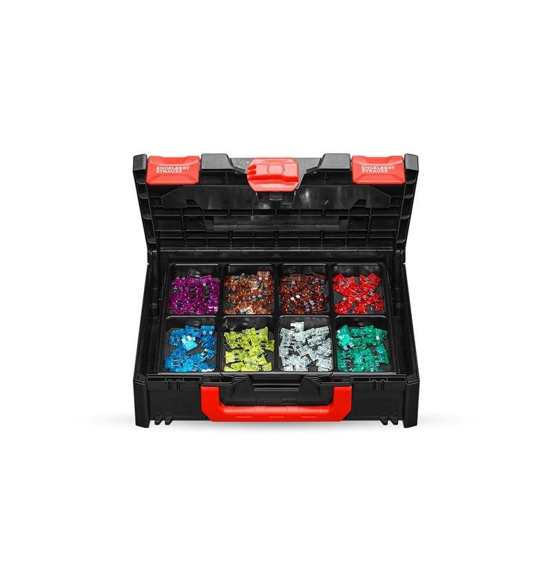 Kleinteile-Sortimente: Flachsicherungen-Sortiment in STRAUSSbox 118 midi