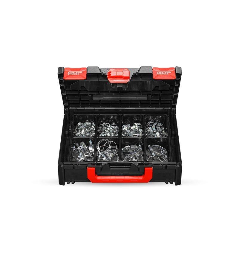 Kleinteile-Sortimente: Schlauchschellen-Sortiment in STRAUSSbox 118 midi
