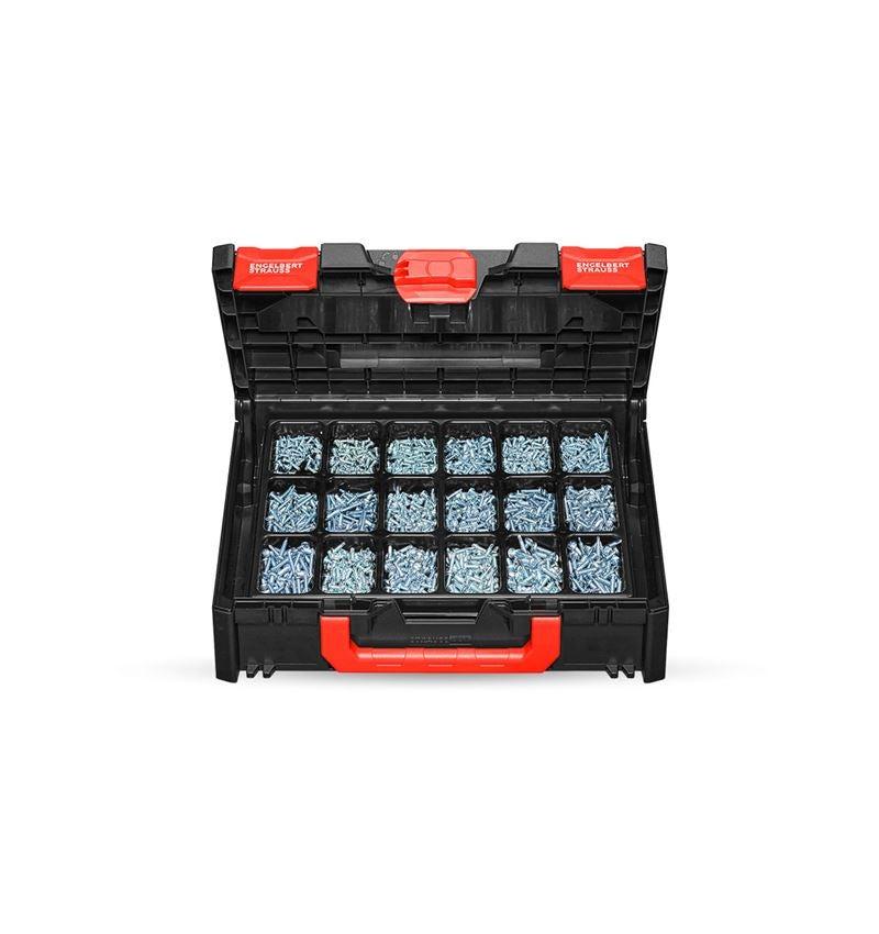 Schrauben: Bohrschrauben DIN 7504 M-H STRAUSSbox 118 midi
