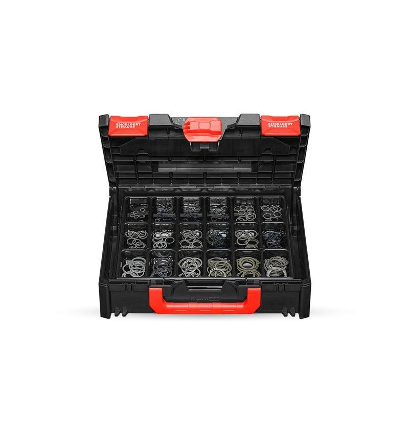 Kleinteile-Sortimente: Sicherungsringe DIN 471 in STRAUSSbox 118 midi