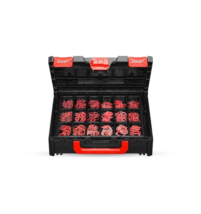 Kleinteile-Sortimente: Dichtringe DIN 7603 in STRAUSSbox 118 midi