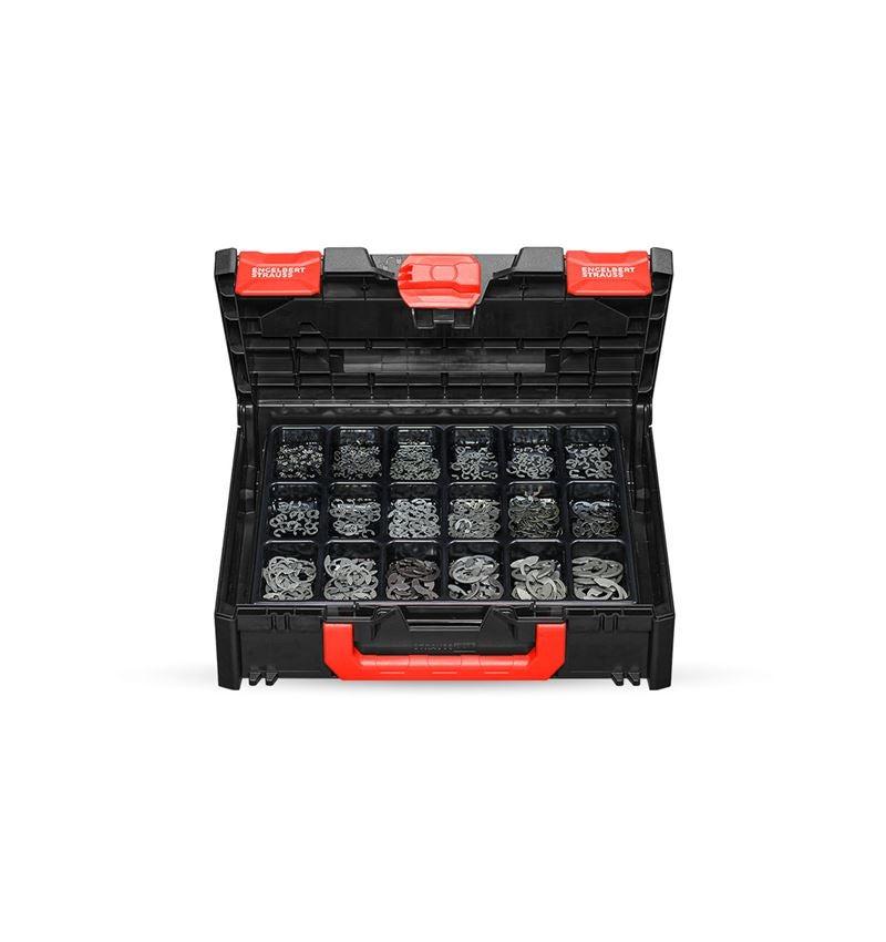 Kleinteile-Sortimente: Sicherungsscheiben DIN 6799 in STRAUSSbox 118 midi