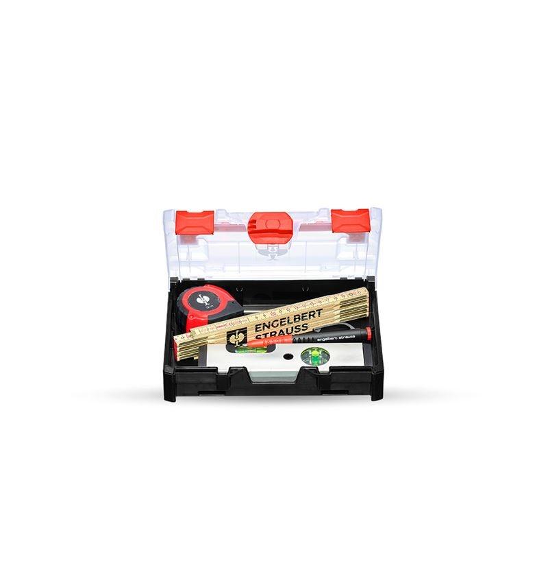 Werkzeugkoffer: Messwerkzeug-Set in STRAUSSbox mini