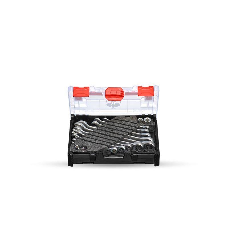 Schraubenschlüssel: Ratch-Tech-Satz, gerade in STRAUSSbox mini