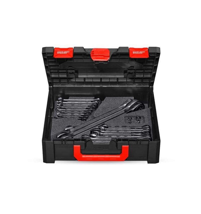 Schraubenschlüssel: Ratch-Tech Satz, gerade in STRAUSSbox 145 midi+