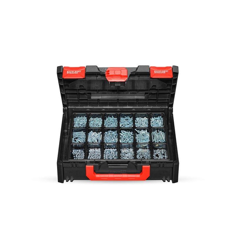 Schrauben: Gewindeschrauben ISO 1207 in STRAUSSbox 118 midi