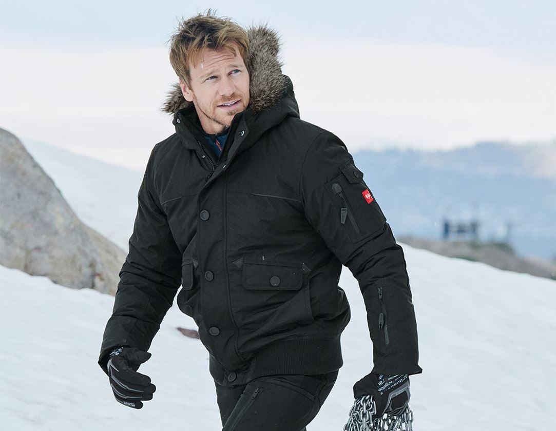 Jacken: Winter Blouson e.s.vision, Herren + schwarz