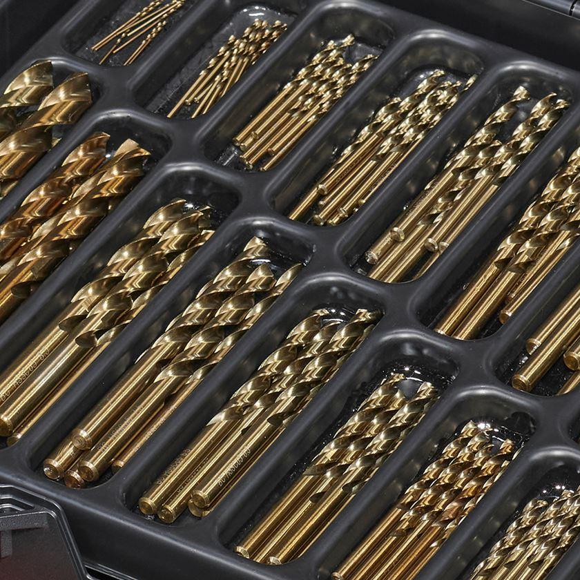 Bohrer: HSS-Co Metall-Spiralbohrer- Sortiment inox in Box 2