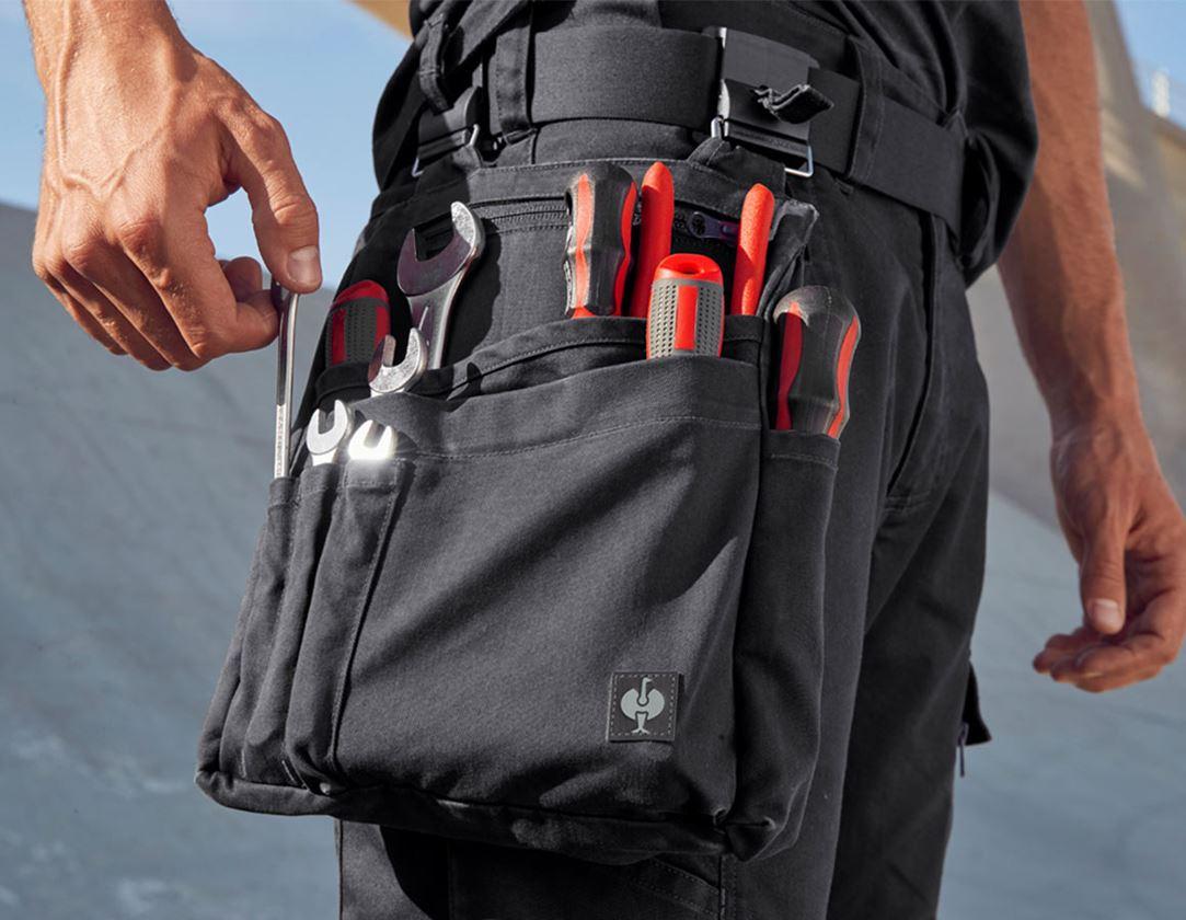 Accessoires: Werkzeugtasche e.s.motion ten + oxidschwarz
