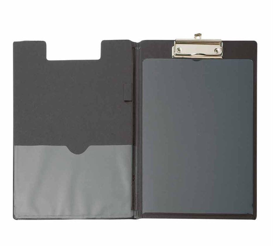 Organisation: Schreibmappe als Durchschreibschutz + schwarz