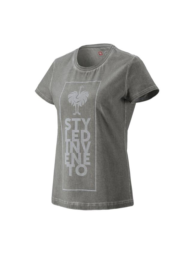 Shirts & Co.: T-Shirt e.s.motion ten veneto, Damen + granit vintage