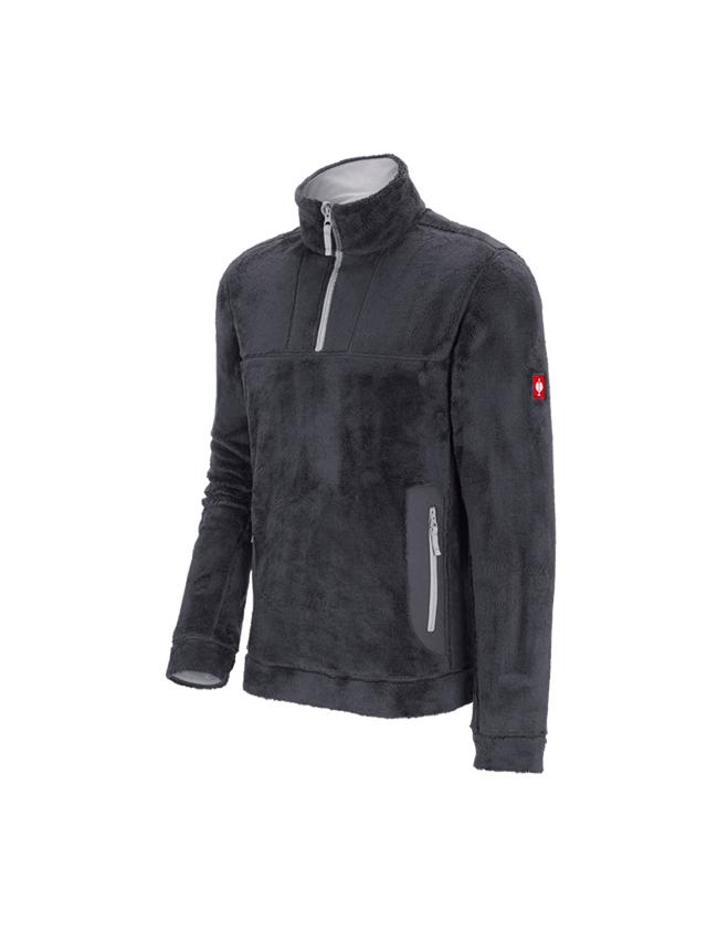 Shirts & Co.: Troyer Highloft e.s.motion 2020 + anthrazit/platin