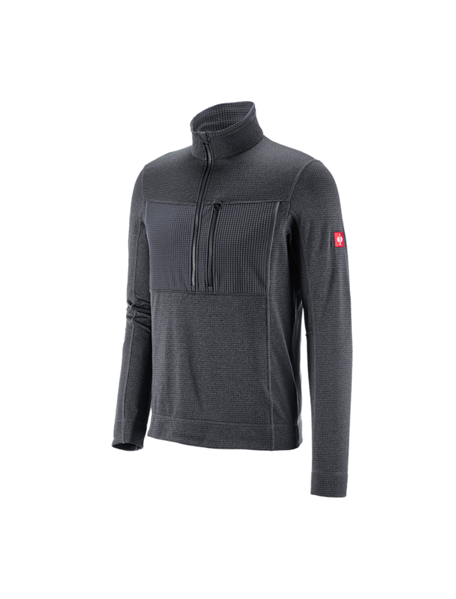 Shirts & Co.: Troyer climacell e.s.dynashield + graphit melange