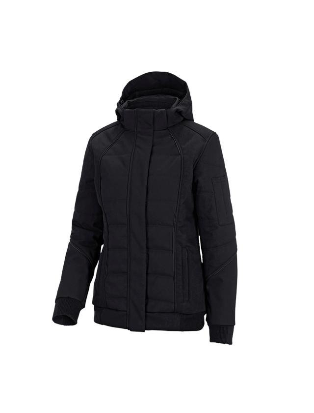 Jacken: Winter Softshelljacke e.s.vision, Damen + schwarz