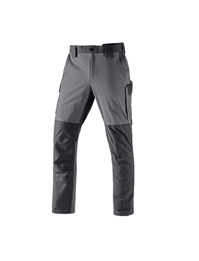 Hosen: Winter Funktions Cargohose e.s.dynashield + zement/graphit