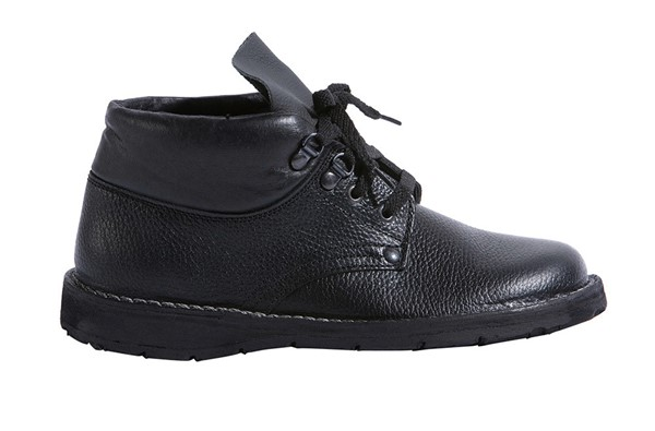 Čevlji za krovce Super, z vezalkami črna,1.png | 38,normal
