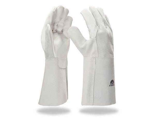 Usnjene varilske rokavice, dolge
