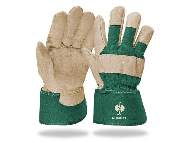 "Zimske rokavice iz pravega usnja  ""Grönland"""