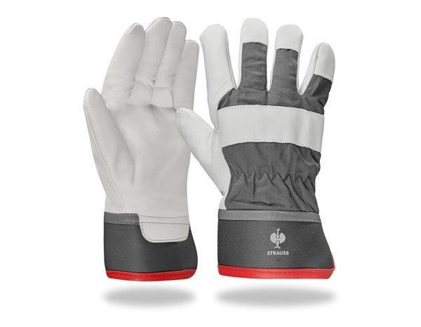 """Zimske rokavice iz ličnega usnja """"Yukon"""""""