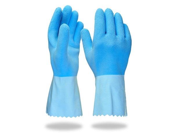 """Posebne rokavice iz lateksa """"Hy Blue"""""""