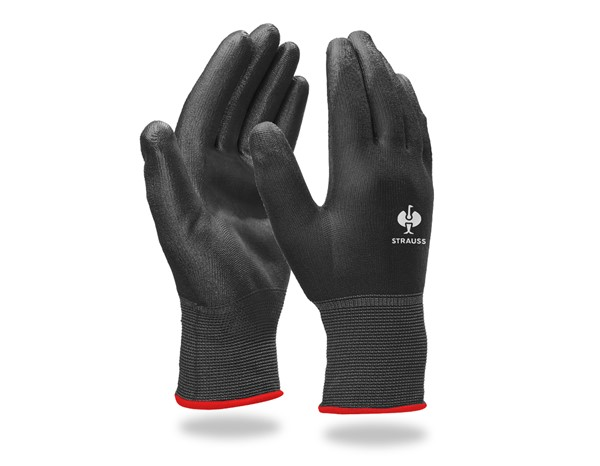 PU-mikro rokavice
