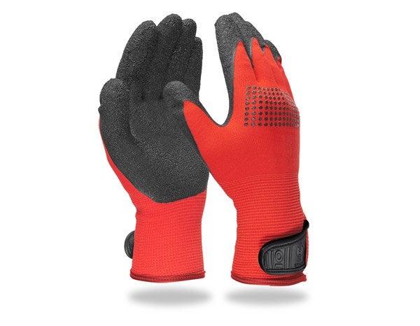 "Pletene rokavice iz lateksa ""Techno Grip"""