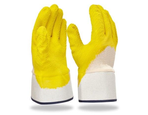 Rokavice iz lateksa, lijakasti zavihek, pakiranje