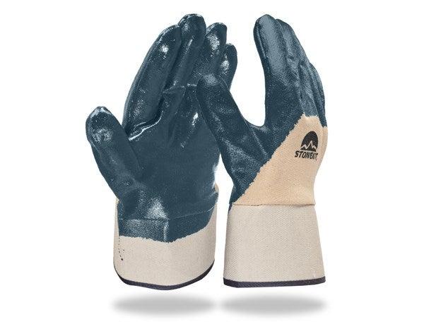Nitrilne rokavice Lith, lijakasti zavihek,12-delno