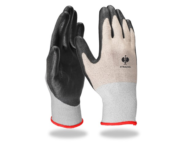 PU-rokavice za zaščito proti urezninam,B stopnja