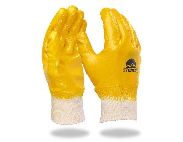 Nitrilne rokavice Basic,celoti premazane,12-delno